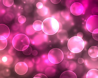 Abstract christmas background. With circles Stock Photography
