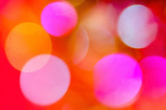 Abstract Christmas background. With colorful bokeh Royalty Free Stock Images