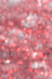 Abstract Christmas background, defocused lights Royalty Free Stock Photos