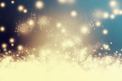 Abstract Christmas background with fireworks Royalty Free Stock Photos
