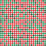 Abstract christmas background flower square Stock Photography