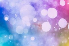 Festive Christmas background. Elegant abstract background with bokeh defocused lights and stars. Abstract christmas background. Glittering Christmas background Royalty Free Stock Photo