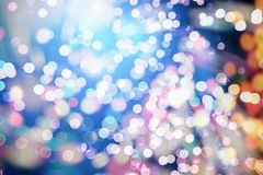 Festive Christmas background. Elegant abstract background with bokeh defocused lights and stars. Abstract christmas background. Glittering Christmas background Royalty Free Stock Photos