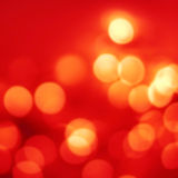 Abstract Christmas background with gold bokeh lights  and place Royalty Free Stock Images