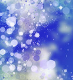 Abstract Christmas background. Holiday abstract background Stock Photography