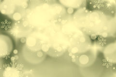 Abstract Christmas background with holiday lights Royalty Free Stock Photo