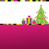 Abstract Christmas Background. Illustration Stock Photo