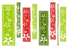 Abstract Christmas Background Pattern Royalty Free Stock Image