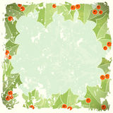 Abstract christmas background in retro style. Illustration Stock Photos
