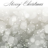 Abstract christmas background with snowflakes. Stock Images