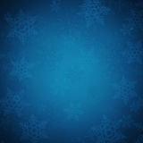 Abstract christmas background. With snowflakes Royalty Free Stock Photo