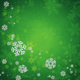 Abstract christmas background. With snowflakes Royalty Free Stock Photography