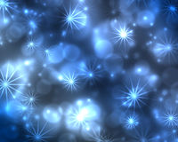 Abstract christmas background. With stars Royalty Free Stock Photos