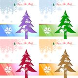Abstract of Christmas Background. stock illustration