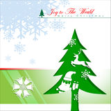 Abstract of Christmas Background. Royalty Free Stock Image