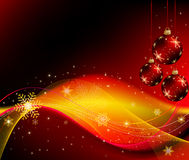 Abstract Christmas background vector Stock Photos