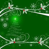 Abstract   Christmas background - vector Stock Photography