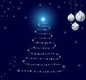 Abstract Christmas background vector Stock Photo
