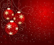 Abstract Christmas background vector Royalty Free Stock Photos