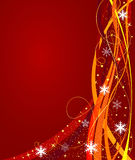Abstract Christmas background vector Stock Photography