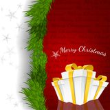 Abstract Christmas Background Vector Illustration. Eps 10 royalty free illustration