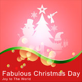 Abstract of Christmas Background. Royalty Free Stock Photo