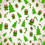 Abstract Christmas Background. Vector illustration Stock Photo