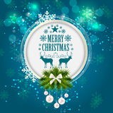Abstract Christmas Background Vector Illustration Royalty Free Stock Image