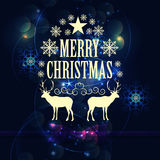 Abstract Christmas Background Vector Illustration Royalty Free Stock Photography