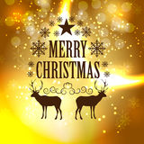 Abstract Christmas Background Vector Illustration Stock Photography