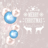 Abstract Christmas Background Vector Illustration Royalty Free Stock Photo