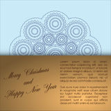 Abstract of Christmas Background. Royalty Free Stock Photography