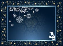 Abstract Christmas Background. Vector and Illustration, EPS 10. Abstract Christmas Background. Merry Christmas.  Vector and Illustration, EPS 10 Royalty Free Stock Image
