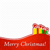 Abstract Christmas Background. Royalty Free Stock Photo