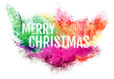 Abstract Christmas background, vector Stock Image