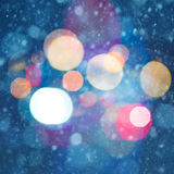 Abstract christmas backgrounds. With beauty bokeh stock photos