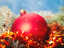 Abstract Christmas backgrounds. With holiday decorations Royalty Free Stock Images