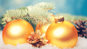 Abstract Christmas backgrounds. With holiday decorations Royalty Free Stock Photos