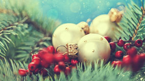 Abstract Christmas backgrounds. With holiday decorations royalty free stock image