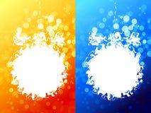 Abstract Christmas ball Stock Image