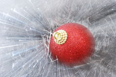 Abstract christmas balls Stock Images