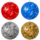 Abstract Christmas balls 2 Stock Image