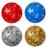 Abstract Christmas balls 2 Stock Image