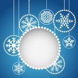 Abstract christmas balls Royalty Free Stock Photography