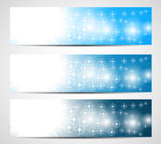 Abstract christmas banners Royalty Free Stock Images