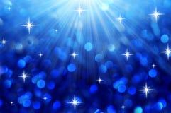 Abstract christmas bokeh Royalty Free Stock Image