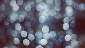 Abstract Christmas bokeh Royalty Free Stock Photos