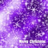 Abstract christmas bokeh Stock Photos
