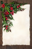 Abstract Christmas Border Royalty Free Stock Images