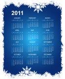Abstract christmas calendar Royalty Free Stock Photos